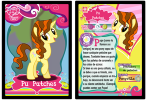 MLP Collectible Card: Pu Patches by gamemastertom