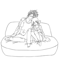 GrimmSoi Lineart by MewIly