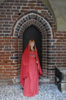 Red Priestess - door by HypnoticRose