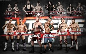 WWE Extreme Rules Card by Mr-Enjoy
