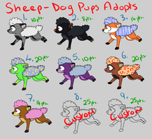 Sheep-Dog Puppy Adopts by BananaFlavoredShroom