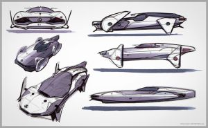 Fast Attack - Final Sketchs by Vincent-Montreuil