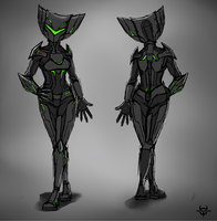 Comm-Female PM7 armor by XenoMind