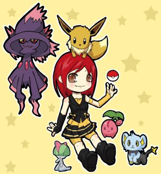 Pokemon Trainer by Kaeighlore