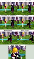 My first MMD comic by TheDreamBat