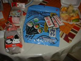 I bought those food and molds from Little Tokyo :D by Magic-Kristina-KW