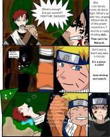 Fight with Gaara take two by Kuu-ish
