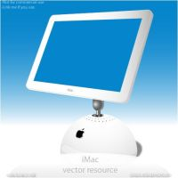 iMac vector resource by Anexos