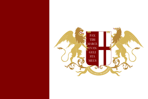 Flag of the Venice-Genoa by JJDXB