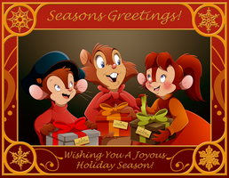NIMH x AAT: Seasons Greetings by WhiteLionWarrior