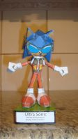 Ultra Sonic papercraft by augustelos