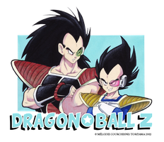 Raditz and Vegeta by Turbotastique