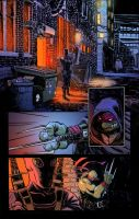 TMNT COLOR SAMPLE by theCEOofDEATH