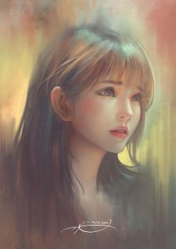 Girl Portrait by Krisedge