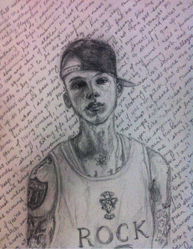 Machine Gun Kelly by marissasaur