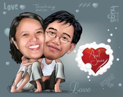 me and hubby by jovee
