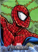 Avengers Cards: Spiderman 2 by ElvinHernandez