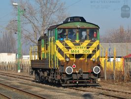 M44 309 in Gyor in january, 2012 by morpheus880223