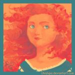 Color Meme - Merida by Chialupa