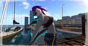 Dock by the Bay - Second Life by Jace-Lethecus