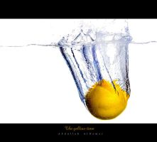 The yellow time by AbdullahNemer