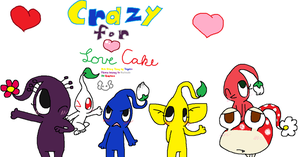 Crazy 4 Love Cake REMADE COVER by wwiggles