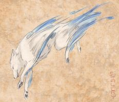 Amaterasu Concept Sketch by Stalcry