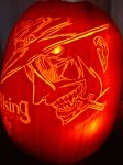 Hellsing Pumpkin Carving 2005 by DistantVisions