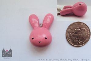 Custom Bunny Charm by RoyalCatDesign