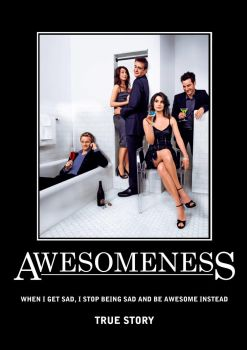 Awesomeness - Poster 1 by SouthernDesigner