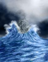 Water Upon Rock by polian