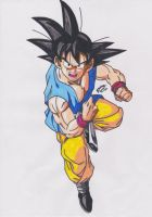 DRAGONBALL GT - GOKU ADULTO by TriiGuN