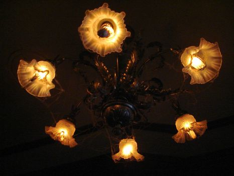 Haunted Mansion's Chandelier by mae0w
