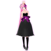 Tda Megurine Luka Dress .:Download:. by Palcario