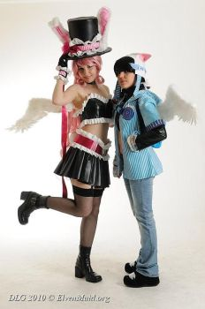 Meroko and Takuto - Negi Ramen by Bunnymoon-Cosplay
