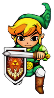 Second Wind waker render by The-Hench-Men