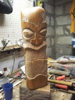 TIKI - MAPLE GIANT WIP 2 by jbensch