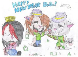 Happy New Year by LeahEvilSoldier