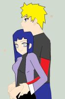 NaruHina art tade by fuzzball17