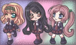 +Chibi Friends EGE+ by Miriamele