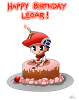 Happy Birthday Leoar! by yassui