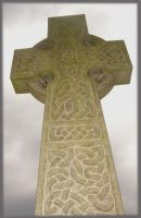 celtic cross by Blue-eyed-Kelpie