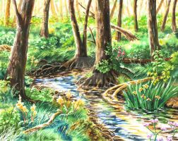 Riverside Woods - now for sale by rieke-b