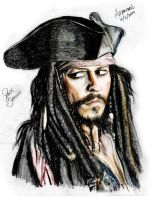 Jack Sparrow Color by askine