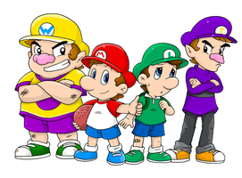 Elementary, my dear Marios~ by Nintendrawer