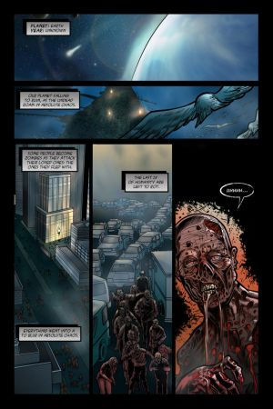 Left to Rot: issue #1 page 1 by JessHavok