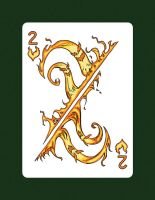 2 Of Hearts aka 2 Of Fire by LineDetail