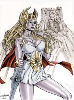 She-Ra Princess of Power Ink and Marker Sketch by John-Stinsman
