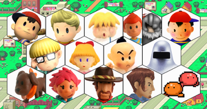 SSB4 Earthbound Series Roster by The-Koopa-of-Troopa