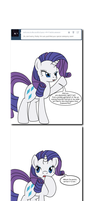 Ask Twixie Tumblr #411 by Dekomaru